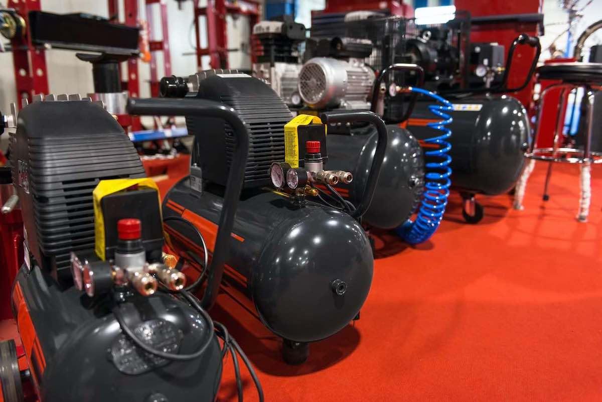 Compressori aria componenti pneumatica
